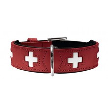 HUNTER Collare Swiss Rosso XL